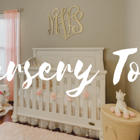 Baby Girl Nursery Tour