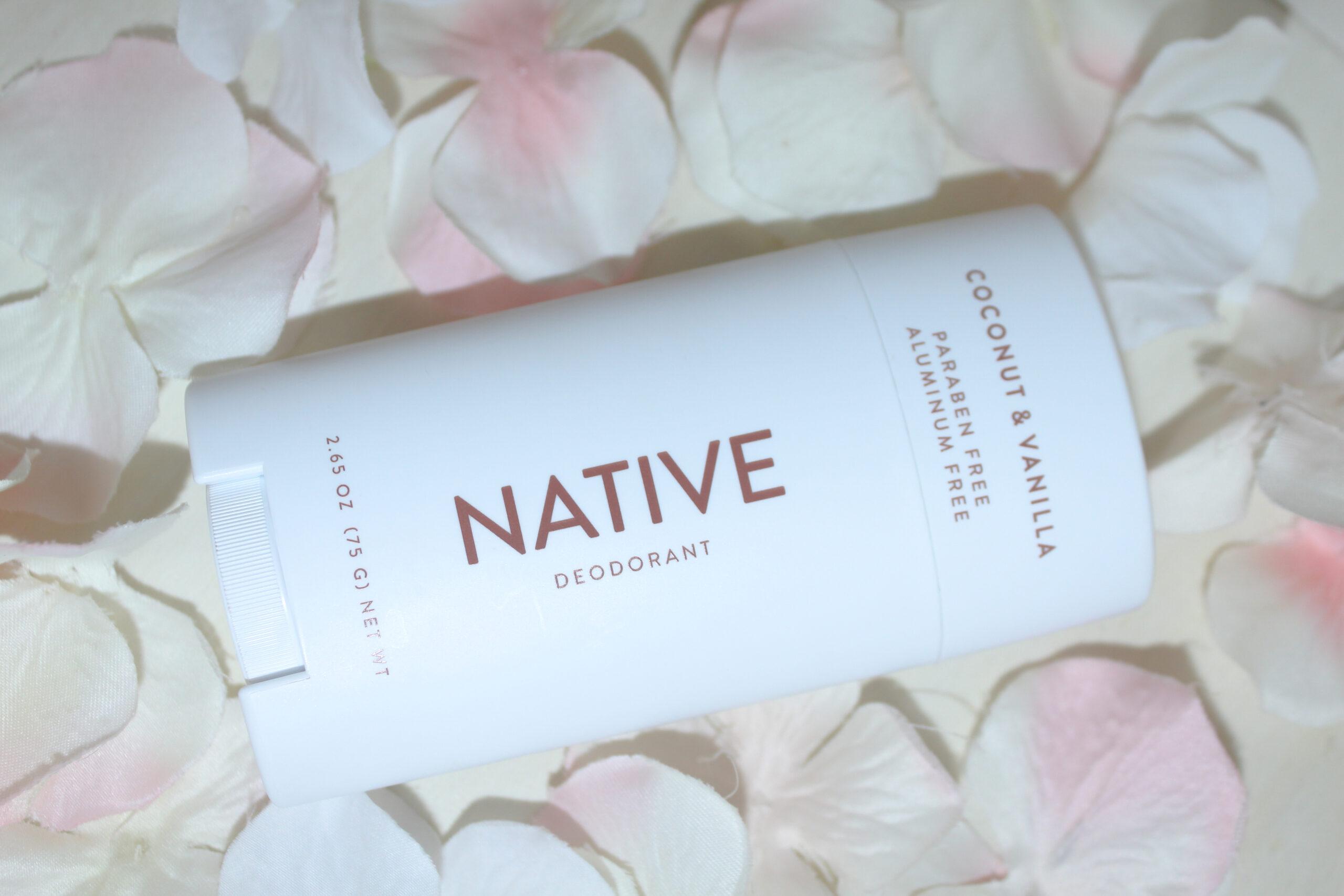 Native Deodorant Coconut Vainilla, best aluminum free deorderant that actually works