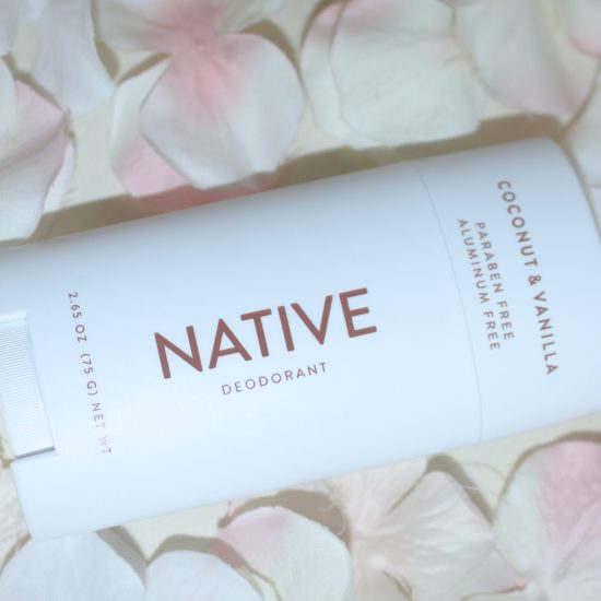 Native Deodorant Coconut Vainilla, best aluminum free deorderant that actually works