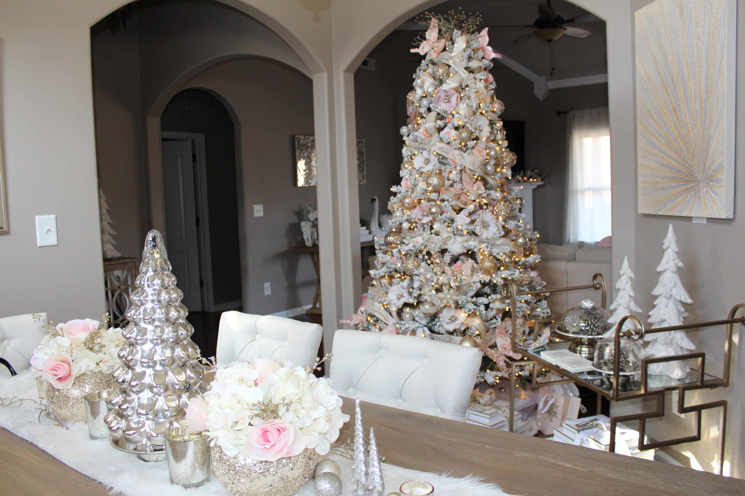Blush Christmas Theme