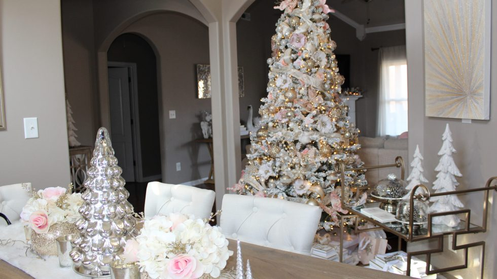 Blush Christmas Theme