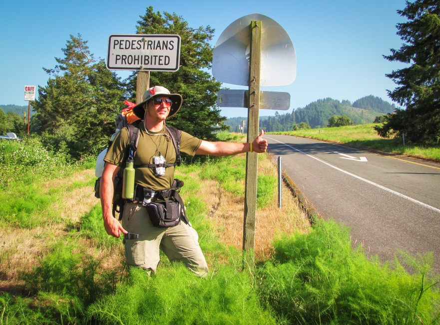 First time hitchhiking