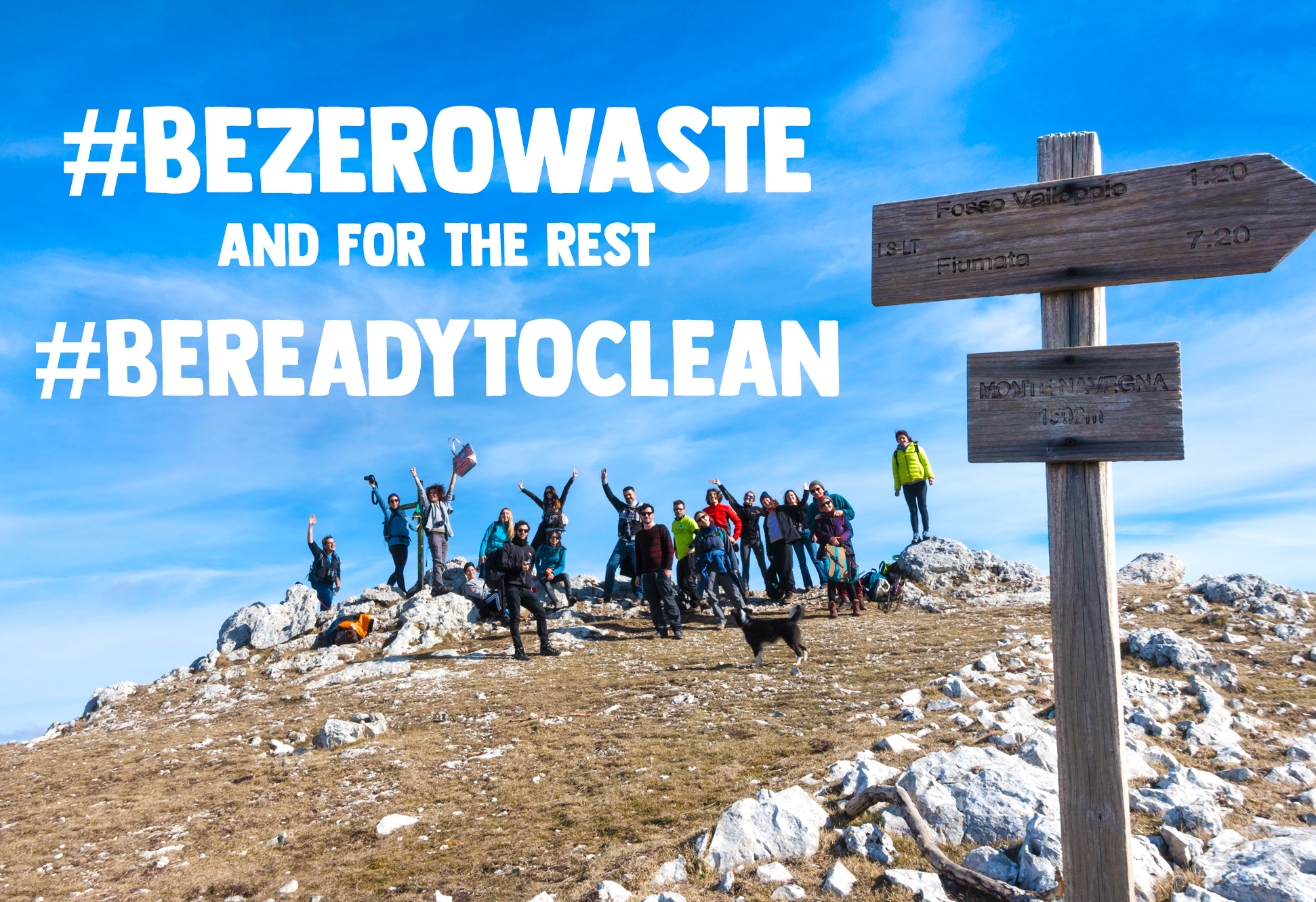 inspire be zero waste be ready to clean
