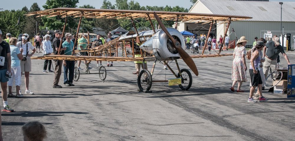 From the Hangar Floor: <br> World War I Airplane Comes Home for Restoration