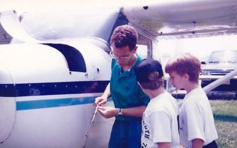 Airline Pilot Thanks Young Eagles Mentors