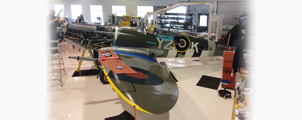 From the Hangar Floor: Vintage Wings of Canada's Spitfire Mk IX
