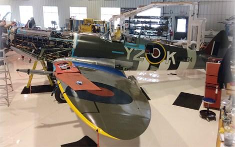 From the Hangar Floor: Vintage Wings of Canada's Spitfire Mk IX