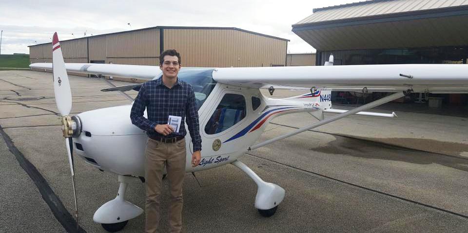 Jack Maechtle – Private Pilot Milestone
