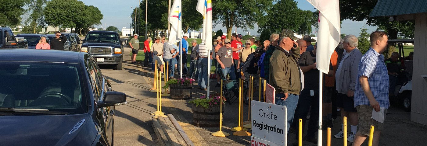 Camp Scholler Opens for AirVenture 2017