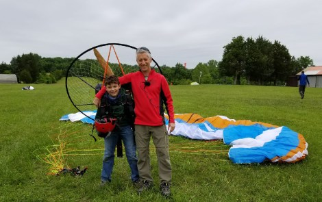 Henry Scott – Powered Paraglider Solo Milestone