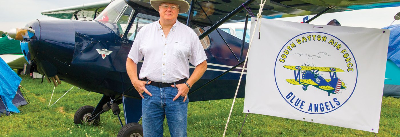 Rare LSA Porterfield Makes Second Oshkosh Visit