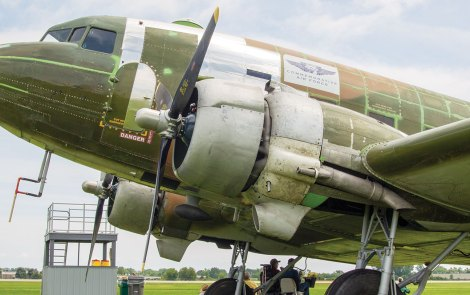D-Day C-47 Shares WWII History at Oshkosh
