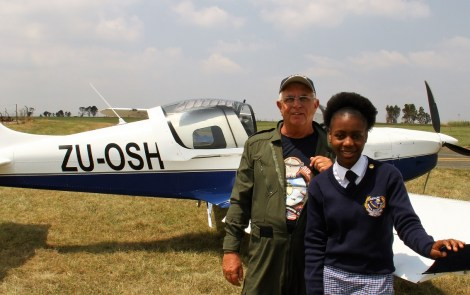 South Africa Chapter Hosts Successful Young Eagles Day