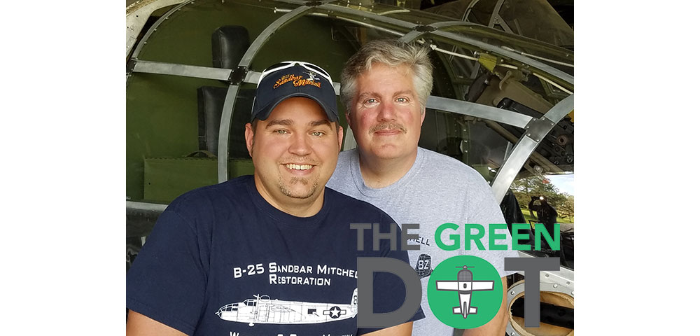 EAA's The Green Dot – Sandbar Mitchell Restorers