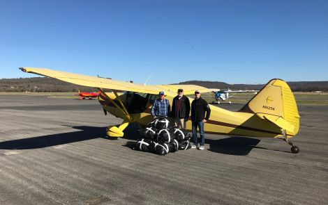 Chapter 1189 Makes Second Coat Donation Flight