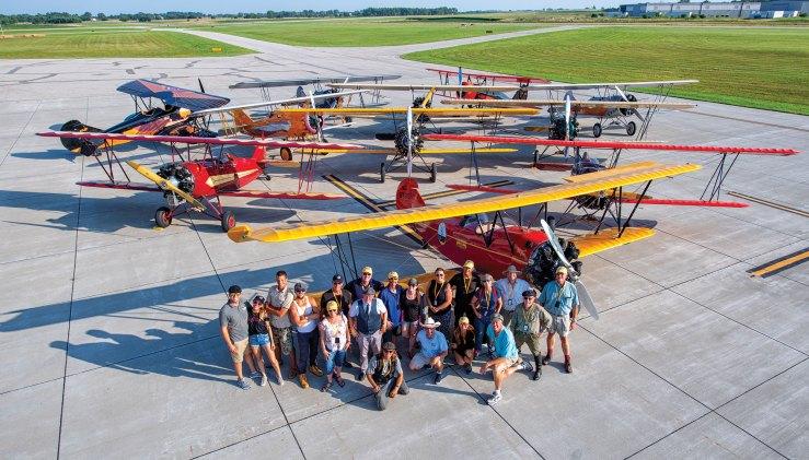 Barnstorming in the 21st Century – Hangar Flying