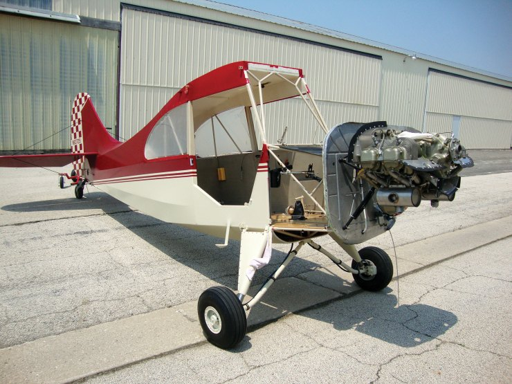 What Our Members are Building/Restoring — Tennessee Aeronca 7AC