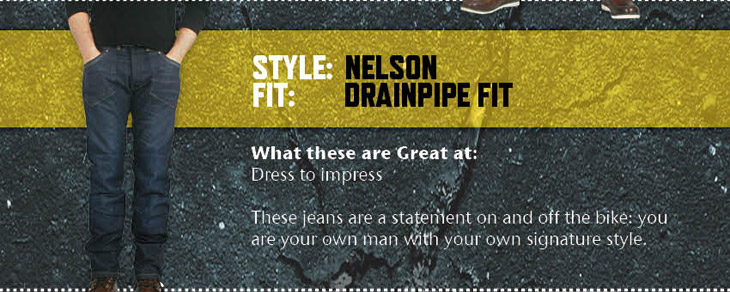 Rev It! Motorbike Kevlar Jeans Nelson