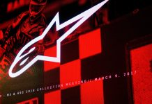 The iconic Alpinestars brand