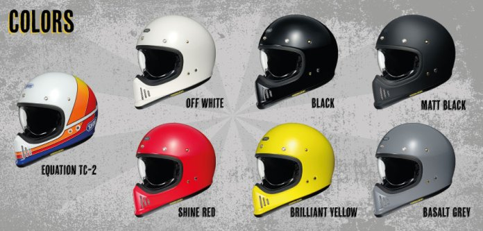 Shoei ExZero Launch Options