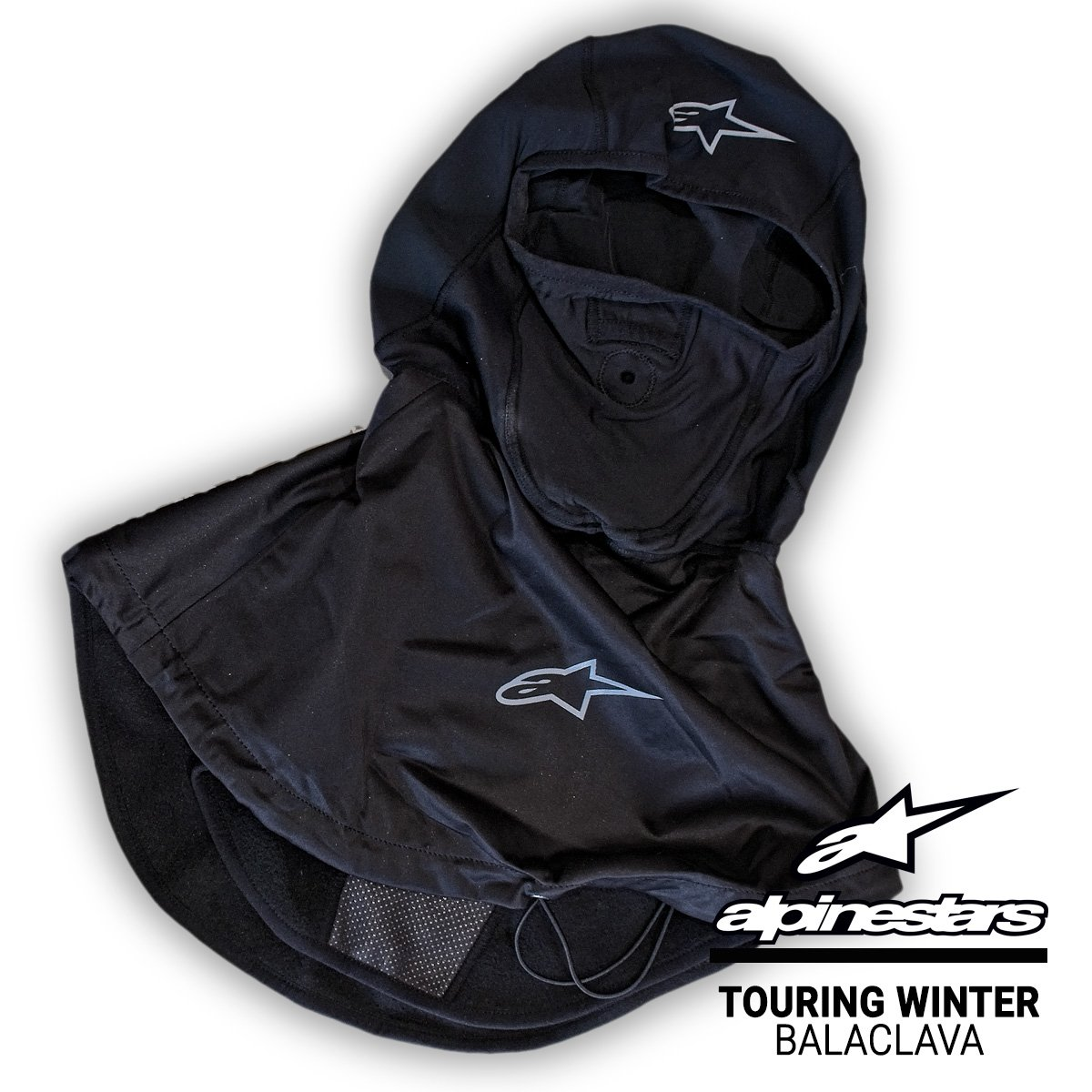 Winter motorcycle clothing accessories from Alpinestars The Touring Winter Balaclava