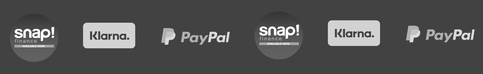 GetGeared offers Snap Finance, Klarna and PayPal