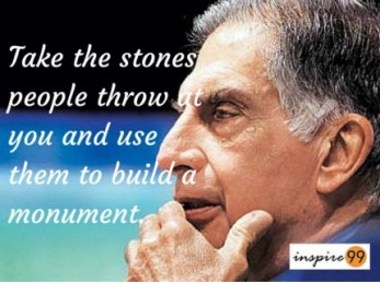 ratan tata quotes people, ratan tata on people, ratan tata on criticism, ratan tata quotes