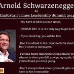 Leadership Summit, Arnold: The Only Way