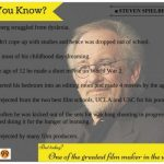 Steven Spielberg: Did You Know?
