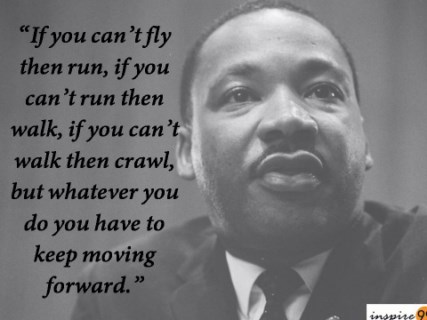 martin luther king quote, martin luther king if you cant fly