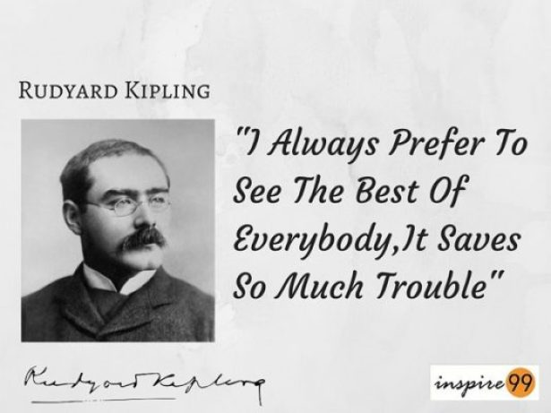 rudyard kipling quote, rudyard kipling best of everybody, rudyard kipling best in everyone, rudyard kipling people quotes