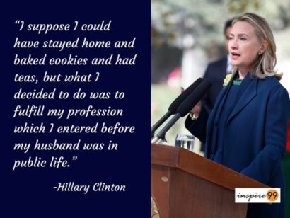 Your Profession is very important ...Hillary Clinton Quotes