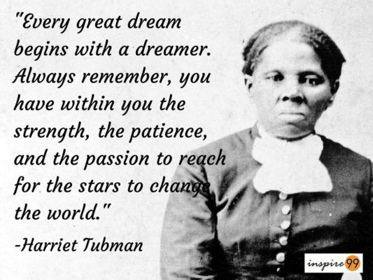 Harriet Tubman Is The Most Desired To Be On 60 Bill People's Beauteous Harriet Tubman Quotes