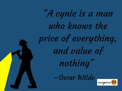 A Cynic Is