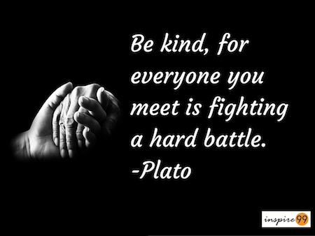 plato inspirational quote, plato on judgment, being judgmental, everyday quote, daily inspirational quote