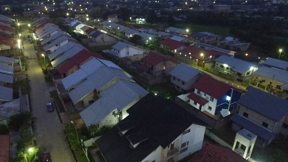 Nyala - Douala. Crédit Photo: Drone Africa