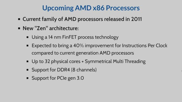 AMD Opteron Processor on Zen Architecture Unveiled