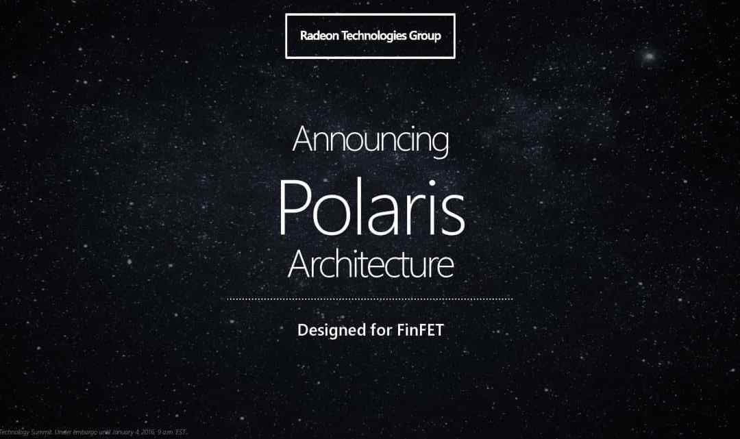 AMD Polaris 10 & 11 GPU Release date and Efficiency
