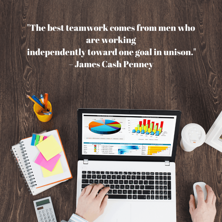 short inspirational quotes, Short Inspirational Quotes To Improve Teamwork
