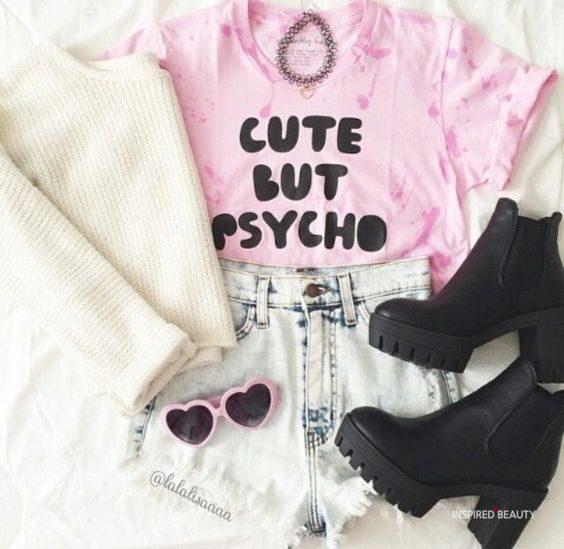 cute but psycho print