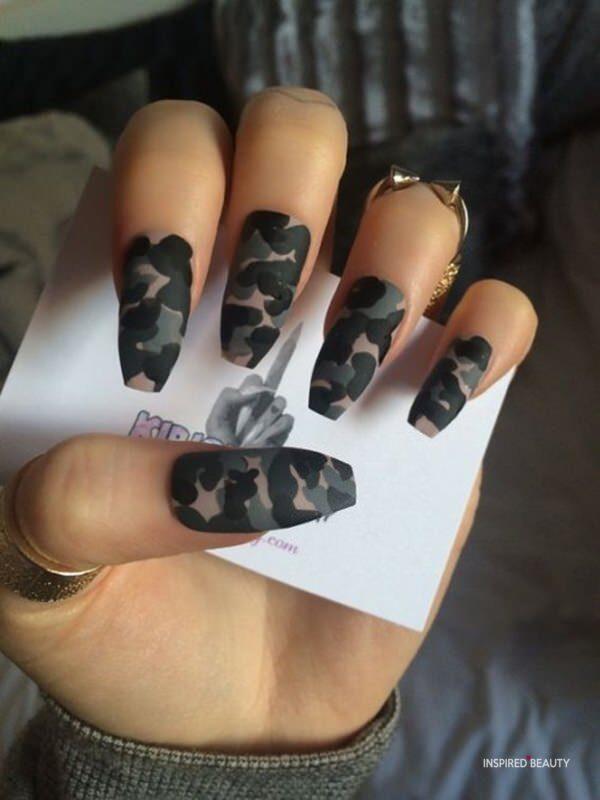 Fake coffin nail designs