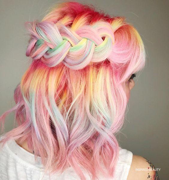mermaid hair color