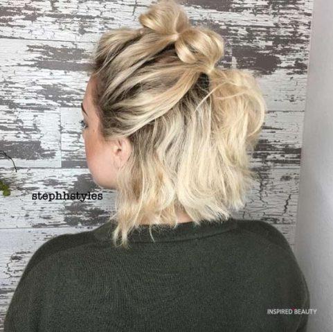 christmas hairstyles for medium length hair