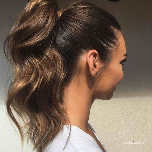 easy ponytail hairstyles