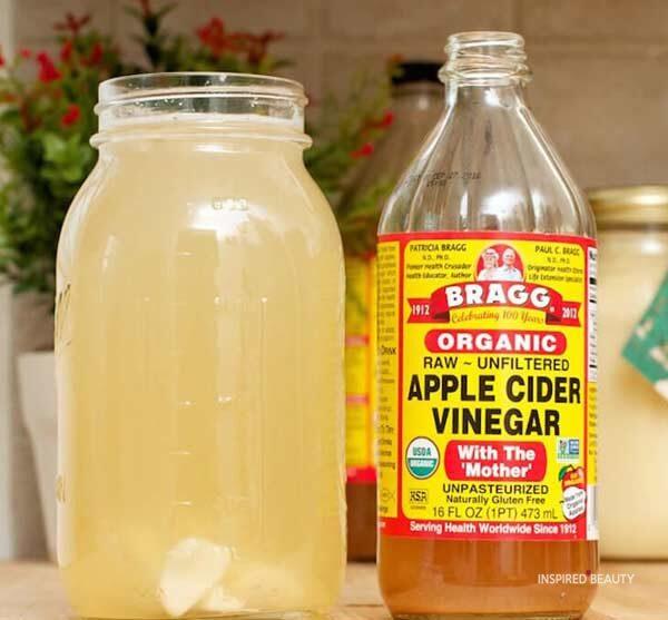 Apple Cider Vinegarfor sunburn relief