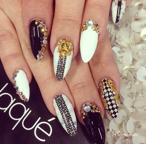 almond nail designs 21 photos  inspired beauty