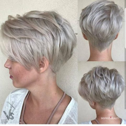 best hairstyles for growing out grey hair