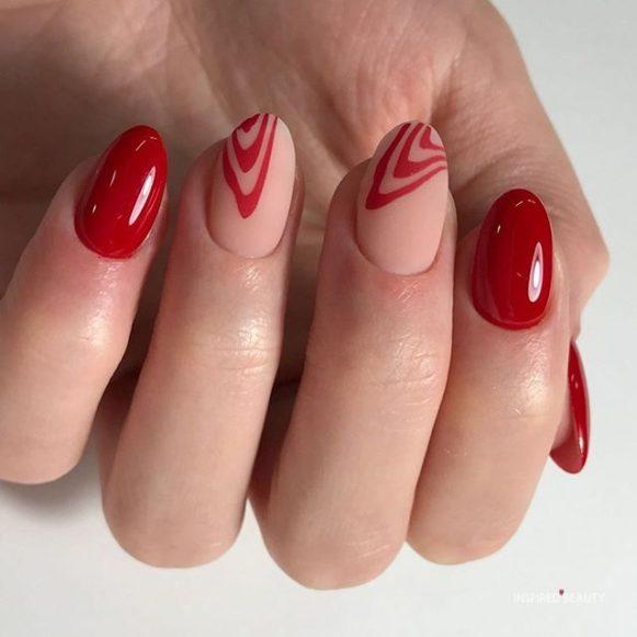 homecoming nail designs