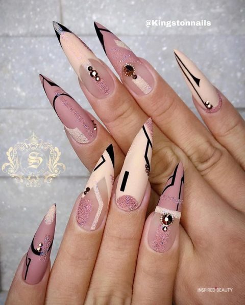 Stiletto Nails Designs