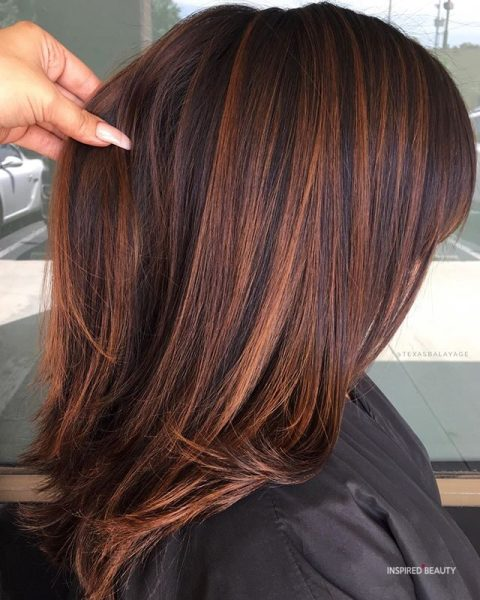 Medium Length Layered Hair Straight